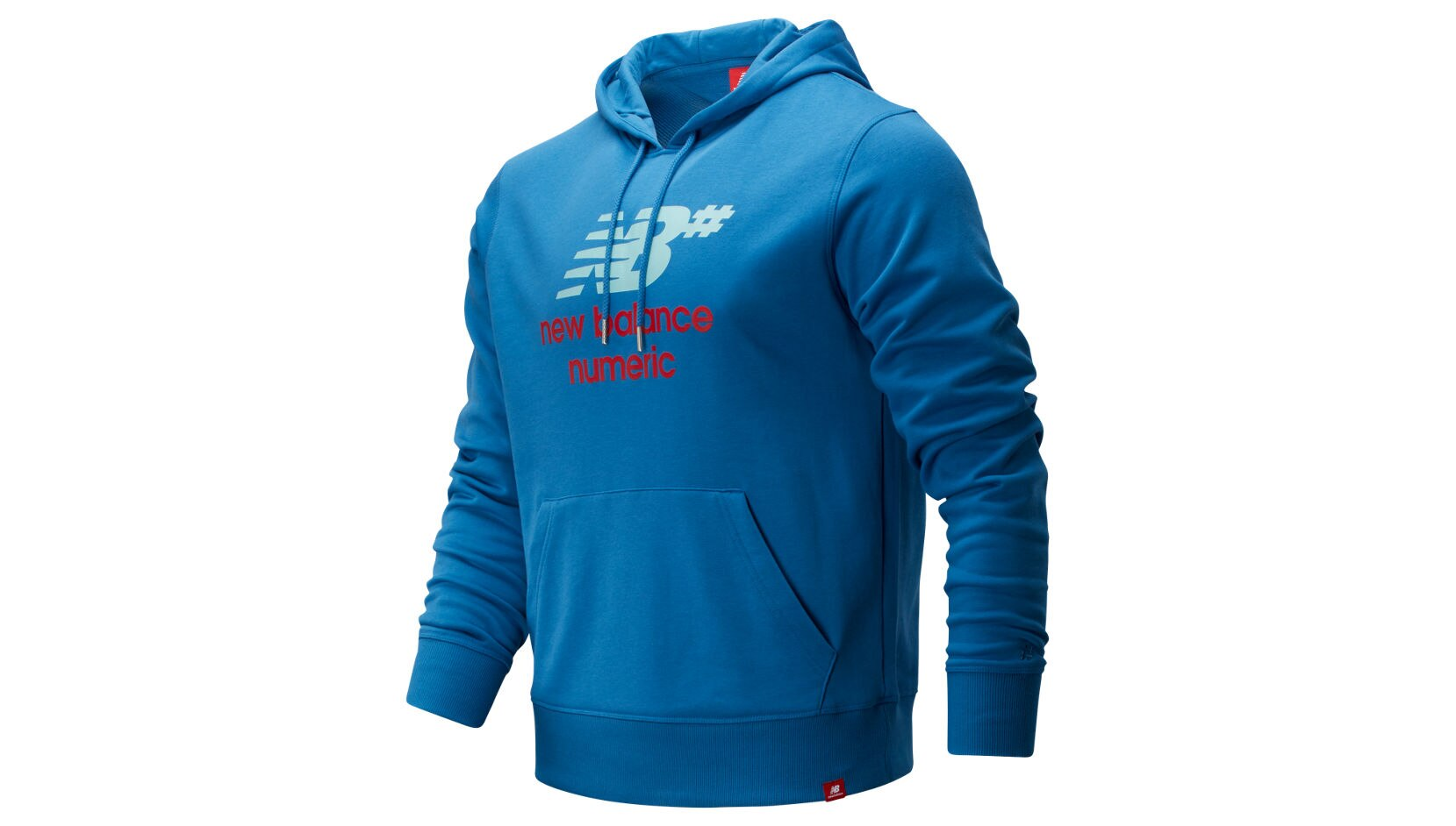 NB NUMERIC LOGO STACKED HOODIE new bee nb 7 earbuds red
