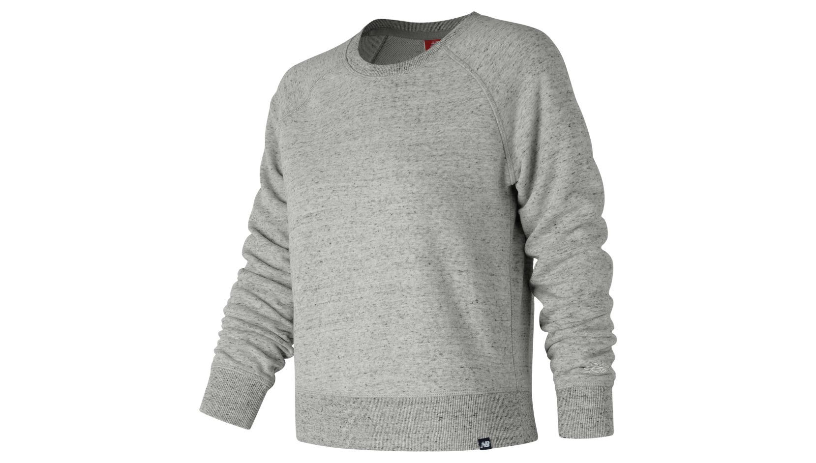 ESSENTIALS FT CREW heathered crew neck tee