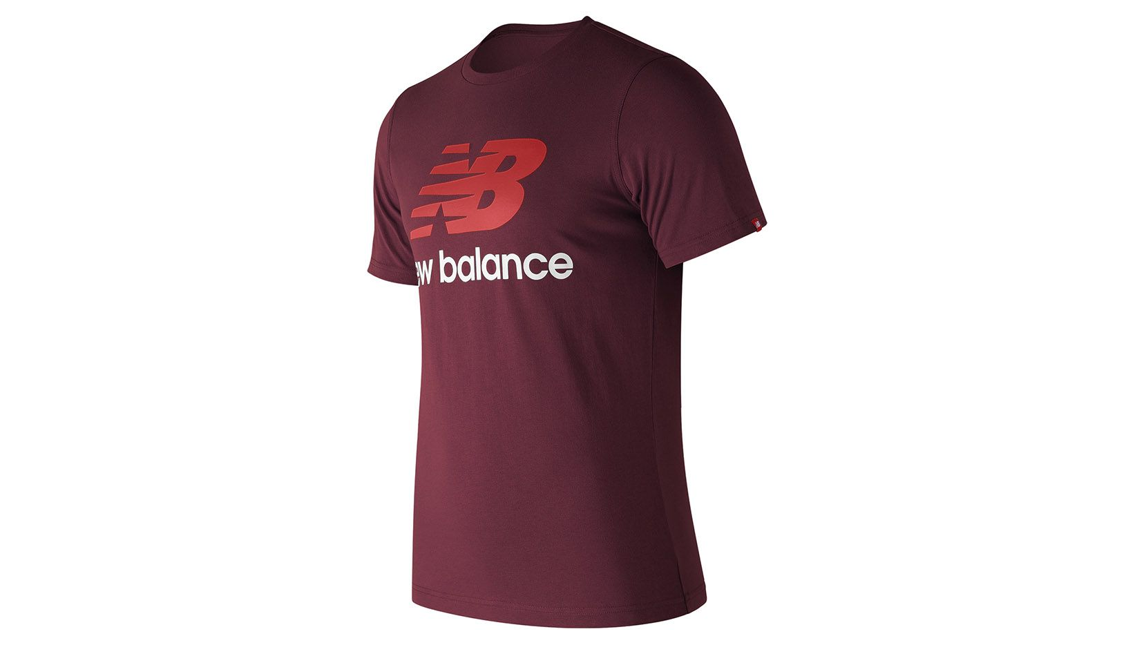 ESSENTIALS STACKED LOGO T от New Balance
