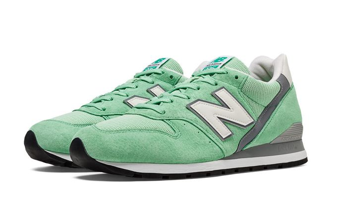 New Balance 996 Made in the USA Mint new balance x social status cm1600 winter in the hamptons