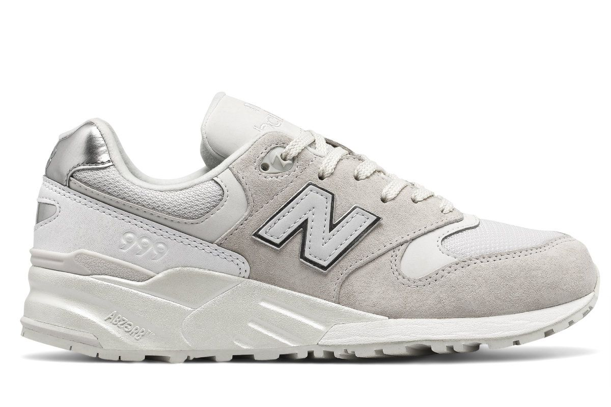 New Balance 999 Whiteout pack