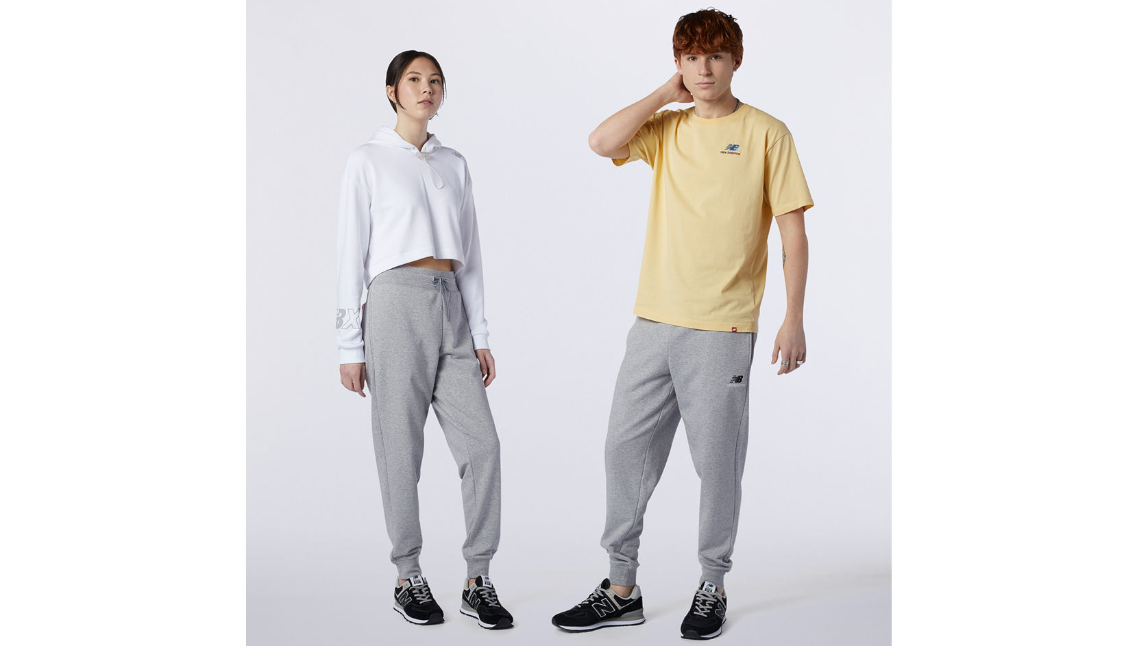 Брюки Essentials Embroidered Pant New Balance MP11590/AG