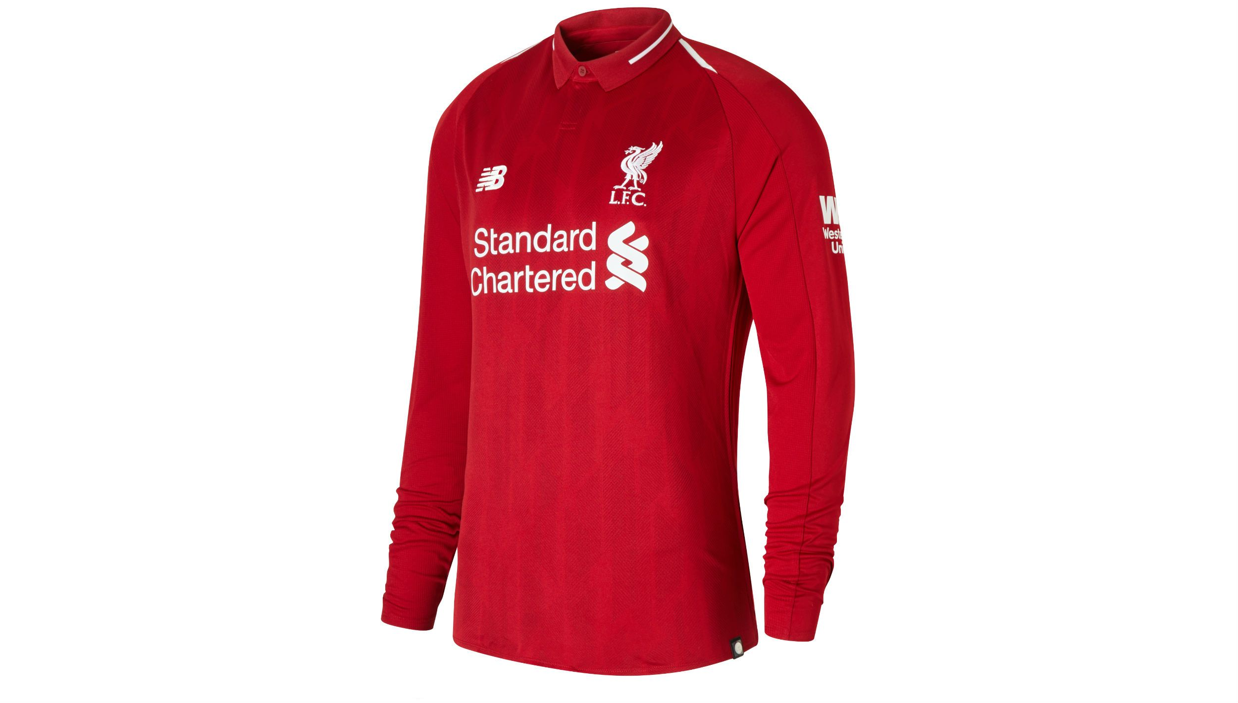 LIVERPOOL FC HOME LS JERSEY new balance футболка chiks