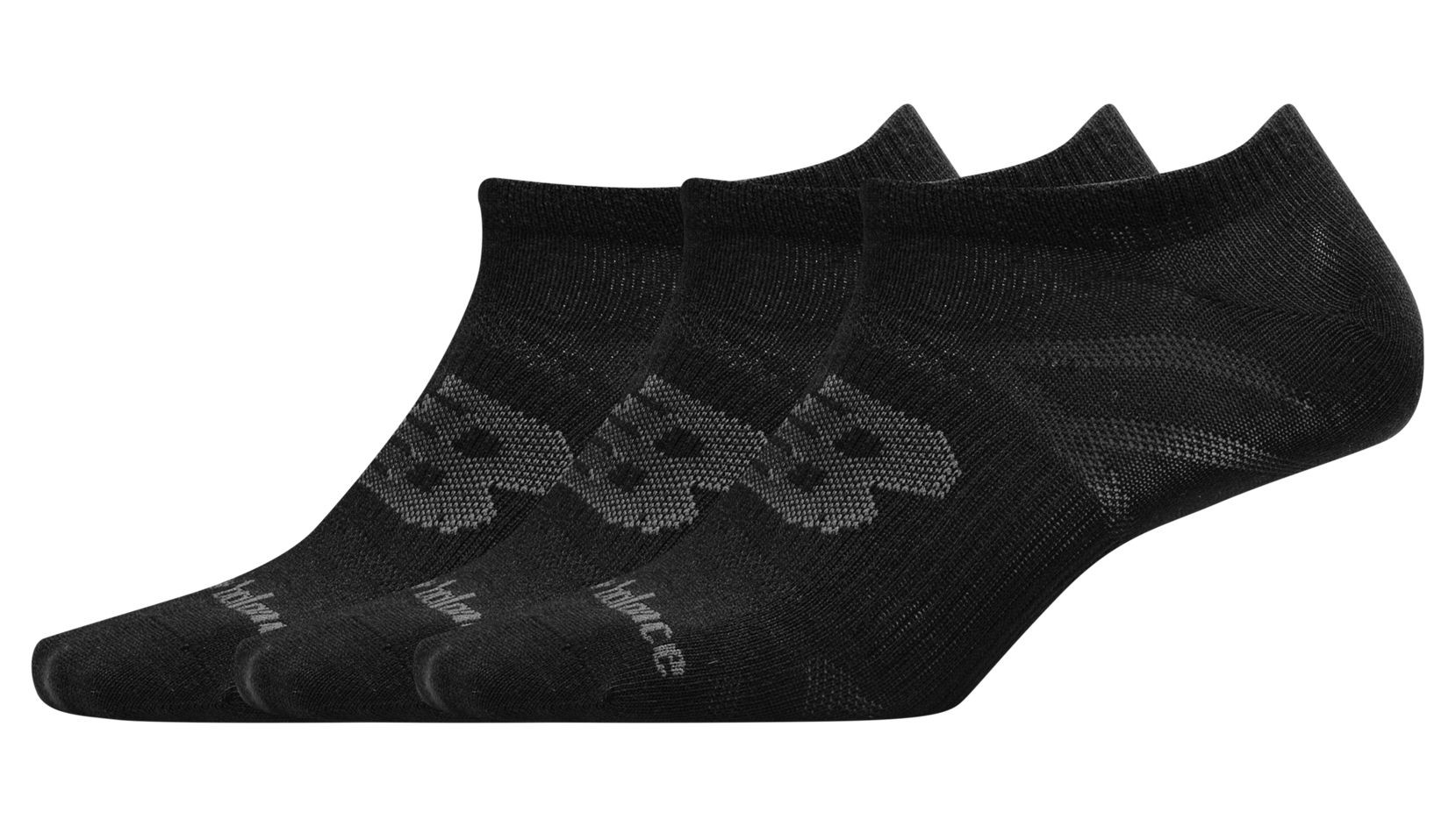 UNISEX FLAT KNIT NO SHOW SOCK 3 PAIR