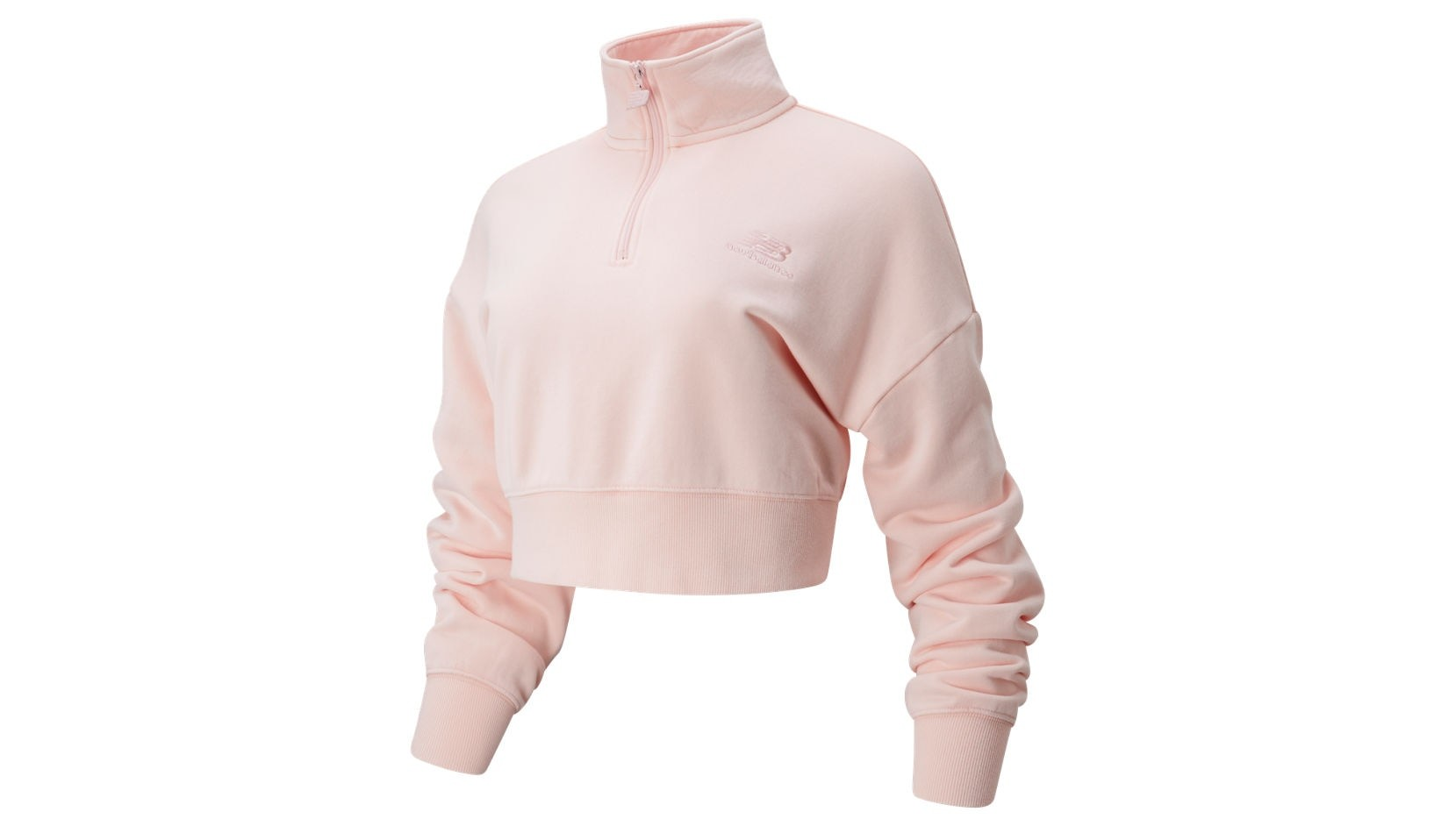 Толстовка NB Athletics Prep 1/2 Zip Fleece