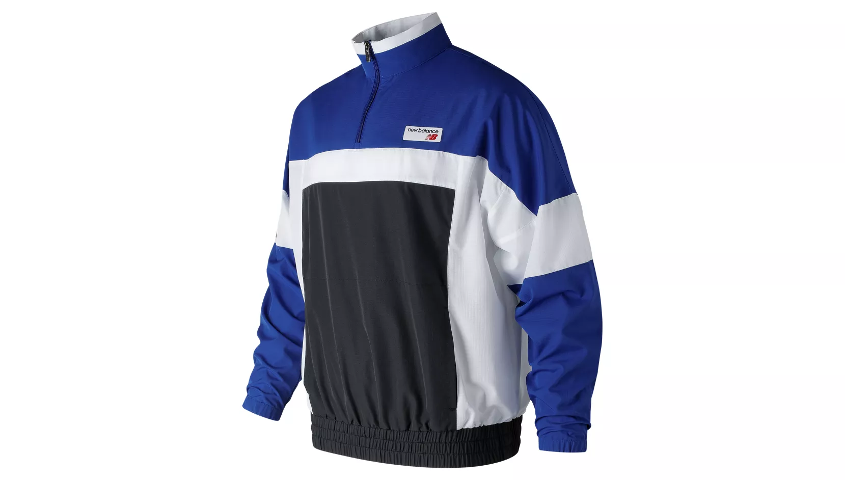 NB ATHLETICS WINDBREAKER PULLOVER