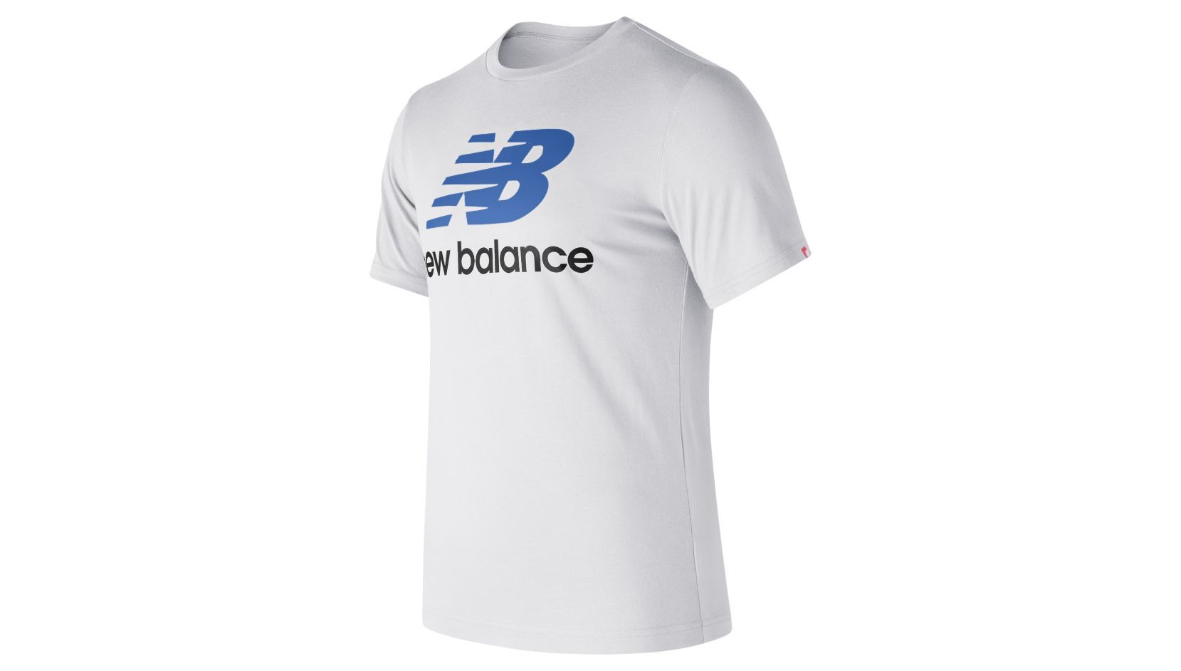 ESSENTIALS STACKED LOGO TEE new balance футболка chiks
